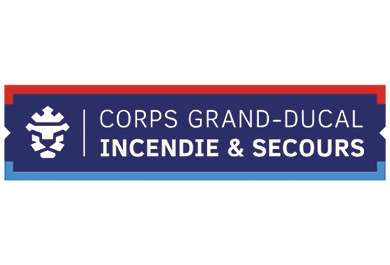 Logo Corps Grand-Ducal Incendie Secours